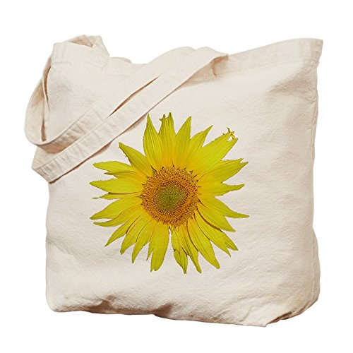 CafePress–girasol–Gamuza de bolsa de lona bolsa, bolsa de la compra