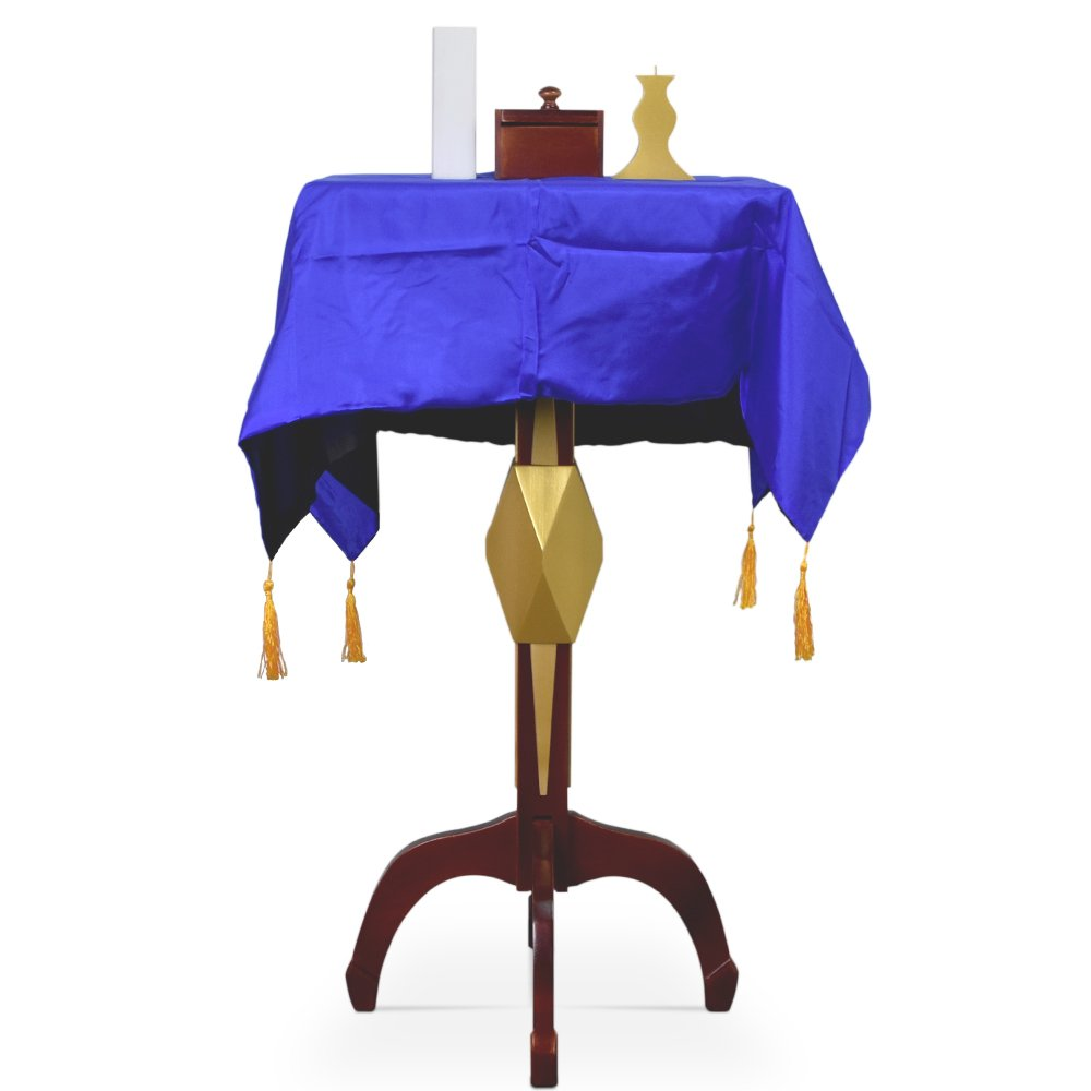 bigbao Floating Table for Professional Magicians with Carrying Case Magic Tricks Magicians Stage Gimmick Props Levitation Illusion Magic Flying Table (Square Table)