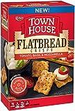 Town House Kellogg's Flatbread Crisps, Tomato/Basil/Mozzarella, 9.5 Ounce