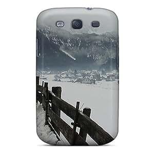 New Wsq21661qqWI Winter In Gosau In The Austrian Alps Skin Case Cover Shatterproof Case For Galaxy S3