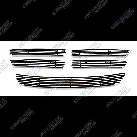 APS Compatible with 2011-2014 Dodge Avenger Black Billet Grille Grill Combo Insert N19-H70116D