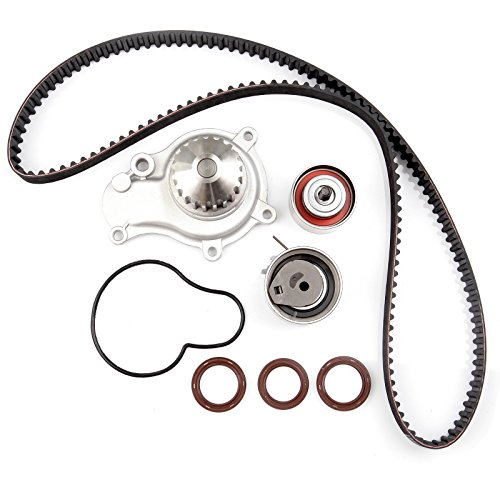 - ECCPP Timing Belt Water Pump Kit Fits 2002-2009 Chrysler Sebring PT Cruiser Voyager Dodge Caravan Stratus Jeep Wrangler Liberty 2.4L L4 DOHC
