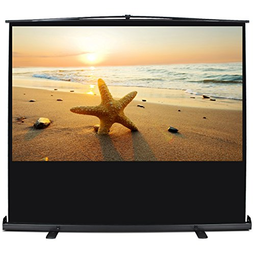 ARKSEN Freestanding Projector Screen Stand Pull Up 92