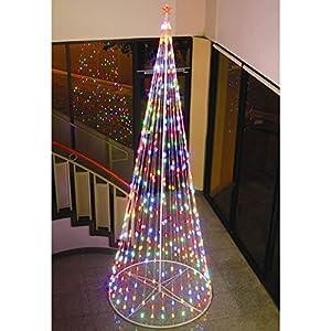 "Amazon.com: Homebrite 144"" Prelit Christmas Tree, 61377, Multi ..."