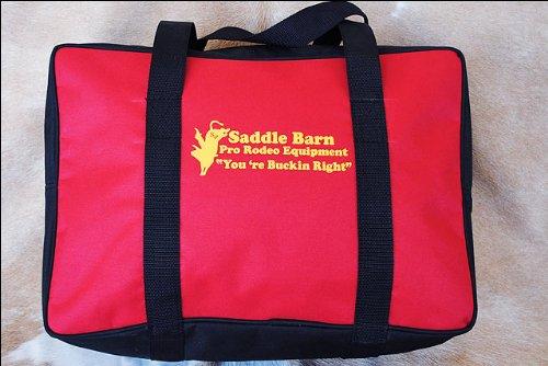Red Saddle Barn Pro Rodeo Youth Gear Bag Cordura 10x14x20 - Barn Gear Bag