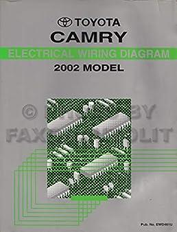 2002 toyota camry wiring diagram manual original toyota 2002 Toyota Camry Wiring Diagram
