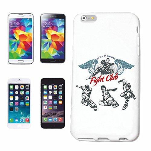 caja del teléfono iPhone 6+ Plus RESPECTO Fightclub MMA ARTE material mezclado Fightclub lucha de la calle de karate Boxeo Kick Boxing JUDO Caso duro de la cubierta Teléfono Cubiertas cubierta para