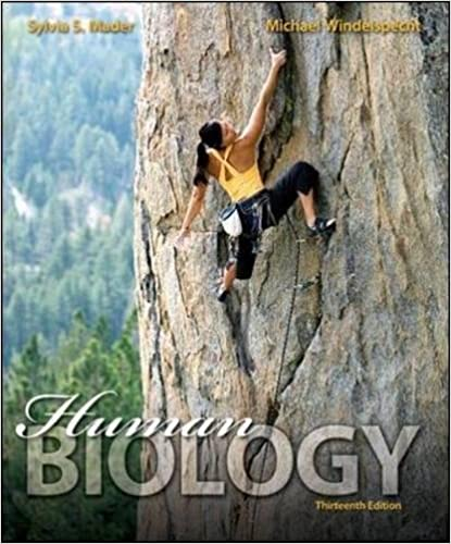 Human biology 9780073525488 medicine health science books human biology 13th edition by sylvia mader fandeluxe Choice Image