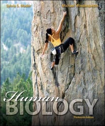 Human Biology -  Mader, Sylvia, Student, Paperback