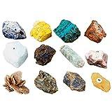 rockcloud Natural Specimen Mineral Children Scinece Geology Sample Collection Rock Kit
