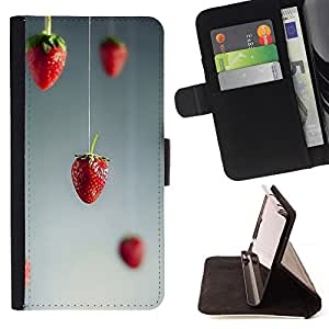 Jordan Colourful Shop - red art minimalist grey gray For Apple Iphone 6 - Leather Case Absorci???¡¯???€????€?????????&Ati
