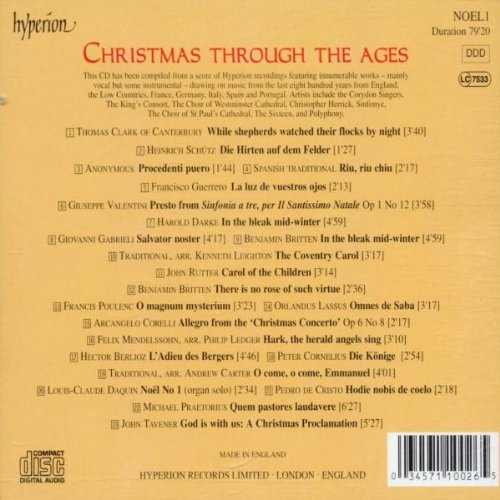 Various Artists - Christmas Through The Ages - Amazon.com Music