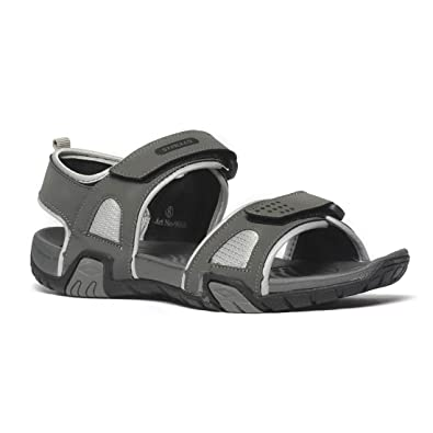 9fa5e059b PARAGON Men Grey Stimulus Sports Sandals: Buy Online at Low Prices in India  - Amazon.in
