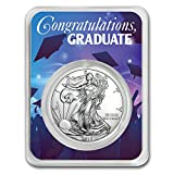 #7: 2018 1 oz Silver American Eagle - Graduation Party Silver Brilliant Uncirculated