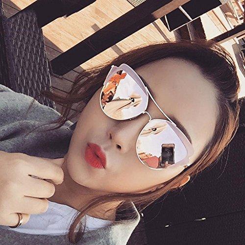 Color Gafas polarizadas Sol Delgadas Sol Coreanas 2 Femeninas Gafas DT de Gafas de p4qOSUAU