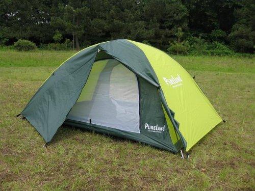 乳について火山のキャンプ用ドームテント4人用