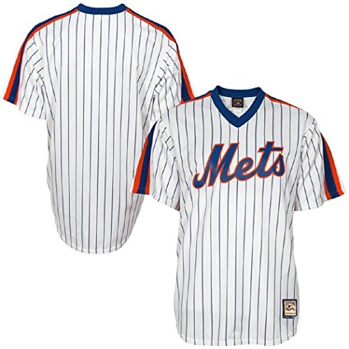 New York Mets MLB Men's Big and Tall Cooperstown Pullover Jersey (2XT)