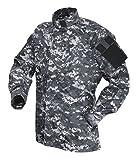 Tru-Spec TAC T.R.U.Shirts 50/50 Nylon/Cotton Rip-Stop, Digital Urban, 3XLarge Long 1390028