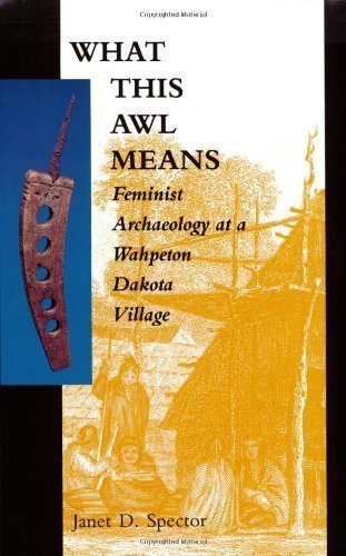 What This Awl Means: Feminist Archaeology at a Wahpeton Dakota Village 1st (first) Edition by Spector, Janet D. published by Minnesota Historical Society Press (1993)