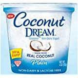 Coconut Dream Plain Yogurt, 6 Ounce -- 12 per case.