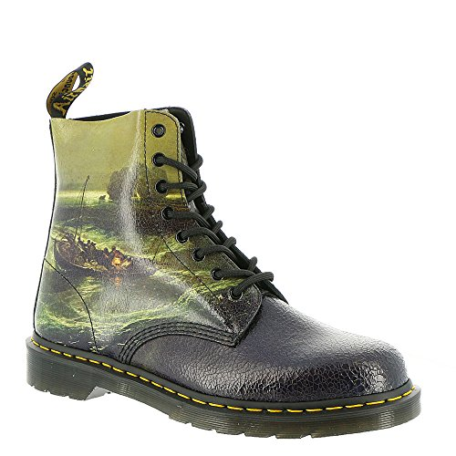 Multicolore Cristal Fisherman Suede Ville de Adulte Dr Mixte Bottines 1f66 23592102 Martens Multi f4qO84