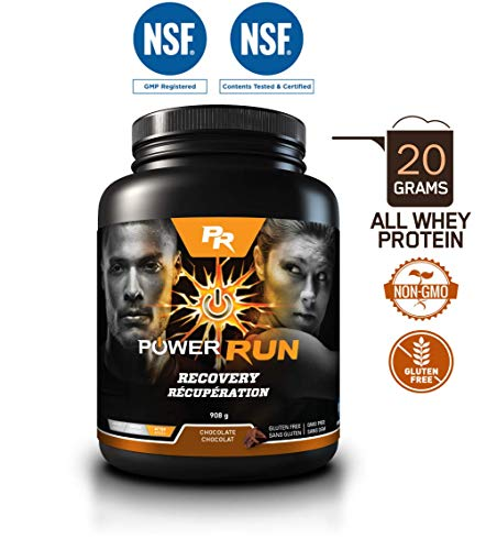 - Power Run's Recovery Blend | Chocolate | 908g / 22 servings
