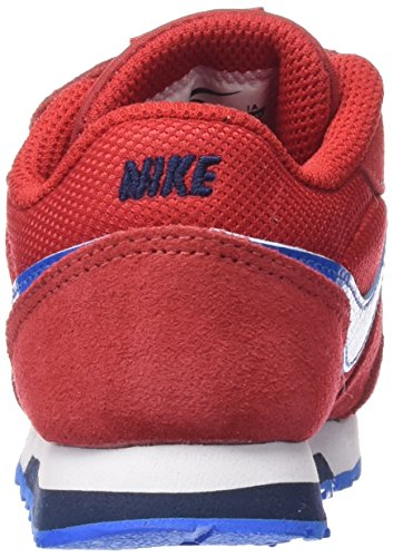 Nike MD Runner 2 (TDV) - Zapatillas infantil Multicolor (UNIVERSITY RED / PHT BLUE OBSDN)