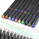 Fineliner Pen, Chukchi Fine Line Drawing Pen Fineliner Color Pens Set 0.38mm Colored