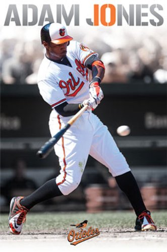 Adam Jones Baltimore Orioles Baseball Poster