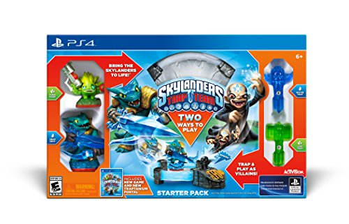 Skylanders Trap Team Starter Pack - PlayStation 4 (Best Team Games Ps4)
