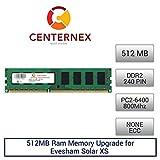 512MB RAM Memory for Evesham Solar XS (DDR26400 NonECC) Desktop Memory Upgrade by US Seller