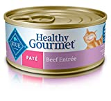 Blue Healthy Gourmet Adult Pate Beef Wet Cat Food 5.5-Oz (Pack Of 24) For Sale