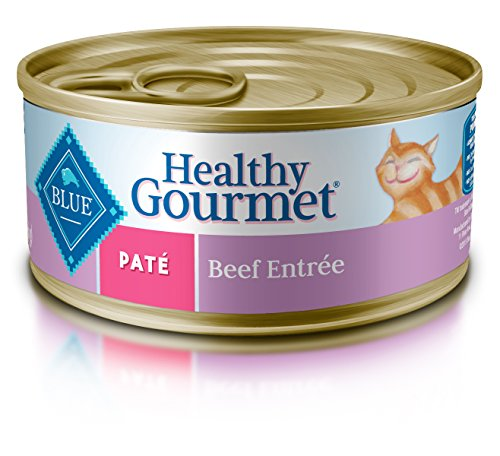 Blue Healthy Gourmet Adult Pate Beef Wet Cat Food 5.5-oz