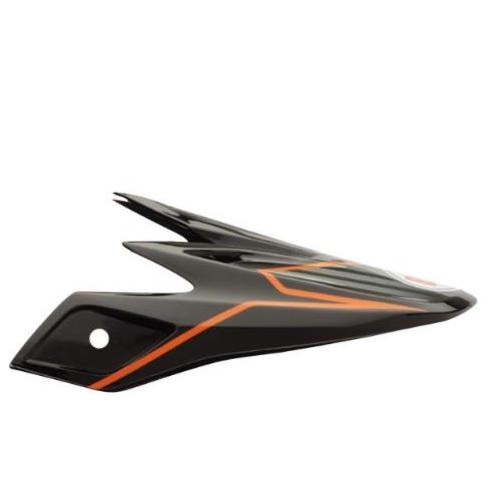 Bell Powersports Moto 9 Visor PINNED ORANGE 8005610