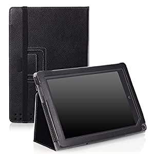 MoKo Slim Cover Case for Barnes & Noble Nook HD+ 9-inch tablet (Full HD Plus), BLACK (with Smart Cover Auto Wake/Sleep Feature)
