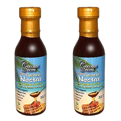 Coconut Secret  Raw Coconut Nectar 12 fl oz (Pack of - Nectar Store
