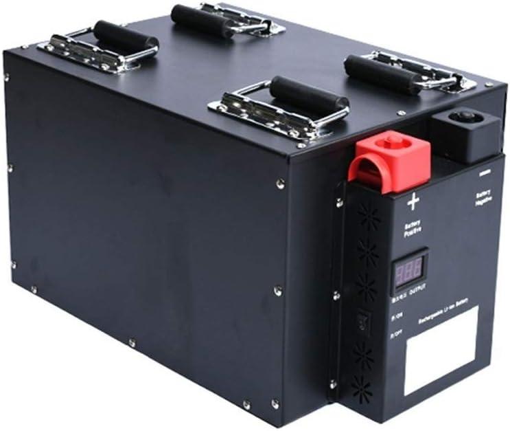Paquete De Baterías De Ciclo Profundo De Fosfato De Litio Y Hierro (LiFePO4), 100AH/200AH/ 300AH/400AH/500AH/600AH RV/Camper, Marina (Color : 24V 200AH)