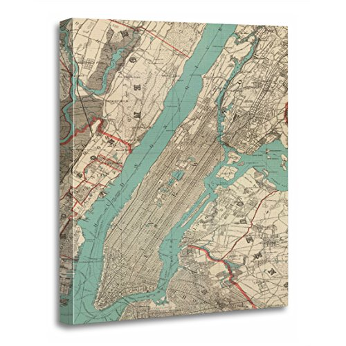 new york old map - 8