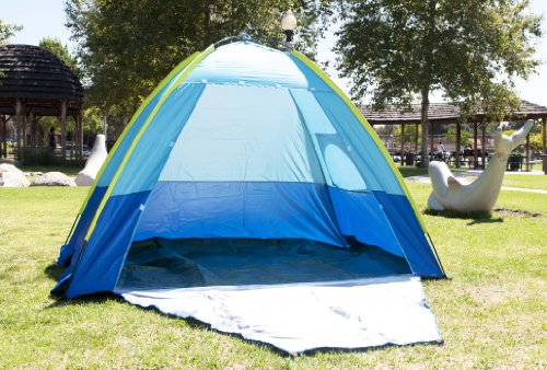 Clearance Sale: Adult's UV Protection Cabana Camp Shelter Tent w/ Carry Bag, Outdoor Stuffs
