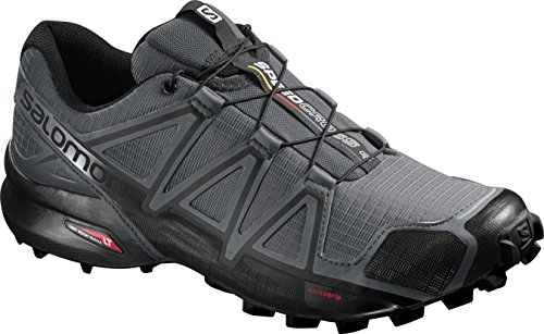 Salomon Men's Speedcross 4 Trail Runner, Dark Cloud, 7.5 M US by Salomon (Image #14)