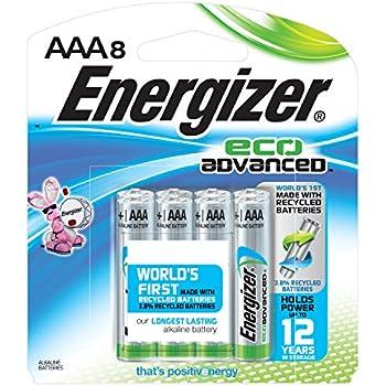Amazon.com: Energizer EcoAdvanced AAA Batteries, Energizer