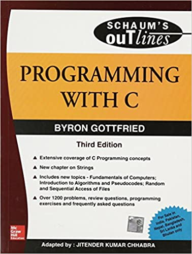 Ebook On Programming In C By Gottfried