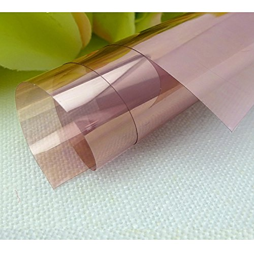 HOHO Rose Gold Window Films Transparent Self-adhesive Glass Vinyl Tint Decal Stickers Anti UV (152cmx1000cm) by HOHO