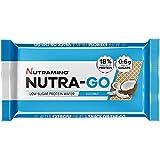 Nutramino Nutra-Go Low Sugar Protein Wafer, Coconut, 12 x 39 g