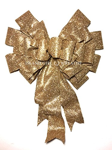 amazon com graduation gift bow gold ribbon large gift bow gold