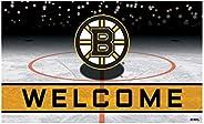 Fanmats 21263 Team Color Crumb Rubber Boston Bruins Door Mat