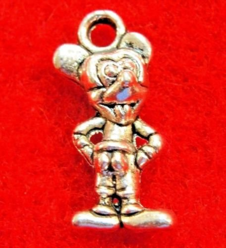 10Pcs. MICKEY MOUSE Cute Charms Pendants Drops Finding AN091 DIY Crafting Key Chain Bracelet Necklace Îewelry Accessories Pendants -