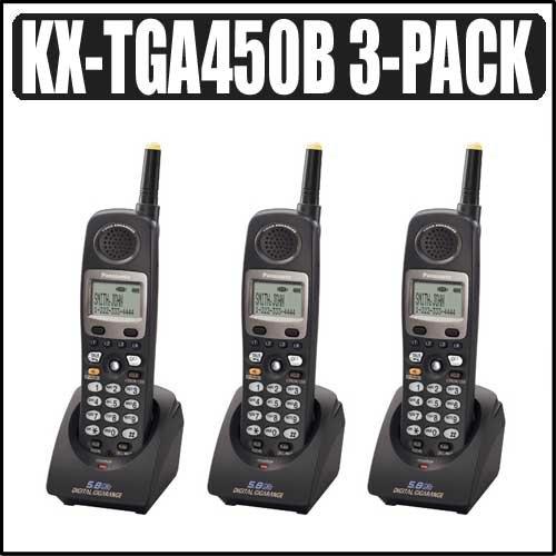 4-line 5.8 Ghz FHSS Handset 3-Pack (Fhss Handset)