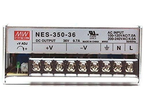 Mean Well NES-350-36 36V 350 Watt Ul Switching Power Supply 110-240 Volt 36v Power Supply