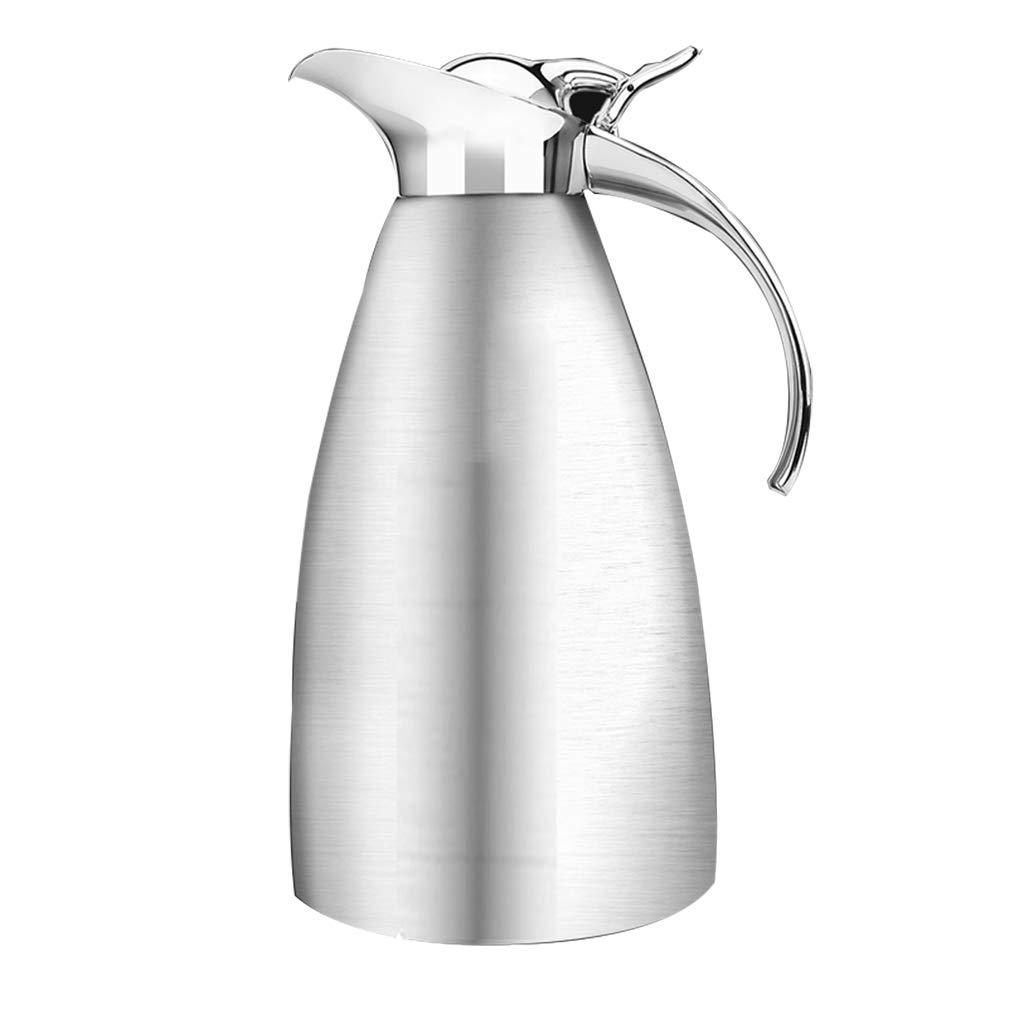 FYCZ Thermoskannen, 304 Edelstahl Thermos Home Office Kaffee Saft Isolierung Große Kapazität 2L N7